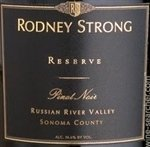 Rodney Strong Reserve Pinot Noir, Russian River Valley 2015 (750 ml)