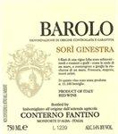 Conterno Fantino Barolo Sori Ginestra 2015 (750 ml)