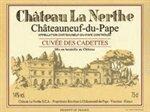 Chateau la Nerthe Chateauneuf du Pape Cuvee des Cadettes 2012 (1.5 Liter)