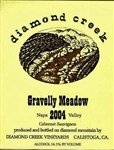 Diamond Creek Cabernet Sauvignon Gravelly Meadow 2017 (750 ml)