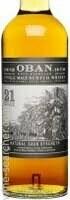 Oban Limited Edition Natural Cask Strength 21 Year Old Single Malt Scotch Whisky, Highlands (750 ml)