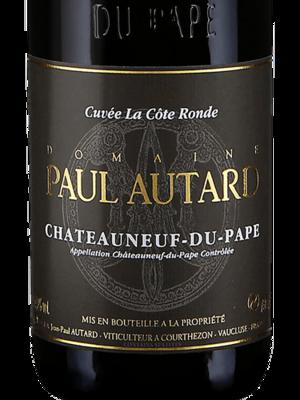 Paul Autard Chateauneuf du Pape Cuvee la Cote Ronde 2016 (750 ml)