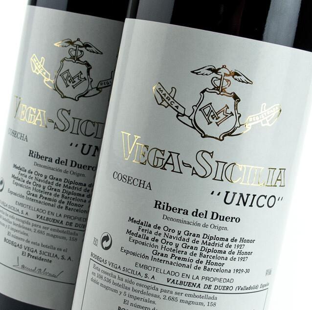 Vega Sicilia Unico Gran Reserva, Ribera del Duero 2010 (750 ml)