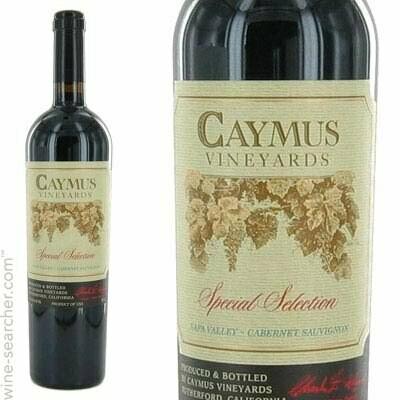 Caymus Vineyards Special Selection Cabernet Sauvignon, Napa Valley 2016 (750 ml)