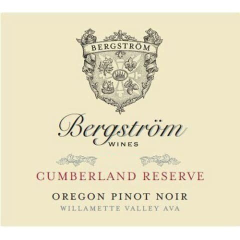 Bergstrom 'Cumberland Reserve' Pinot Noir, Yamhill-Carlton District 2017 (750 ml)