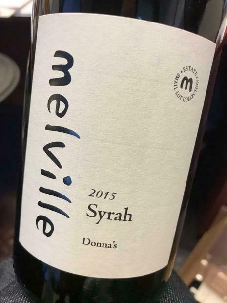 Melville Estate Donna's Syrah, Santa Rita Hills 2015 (750 ml)
