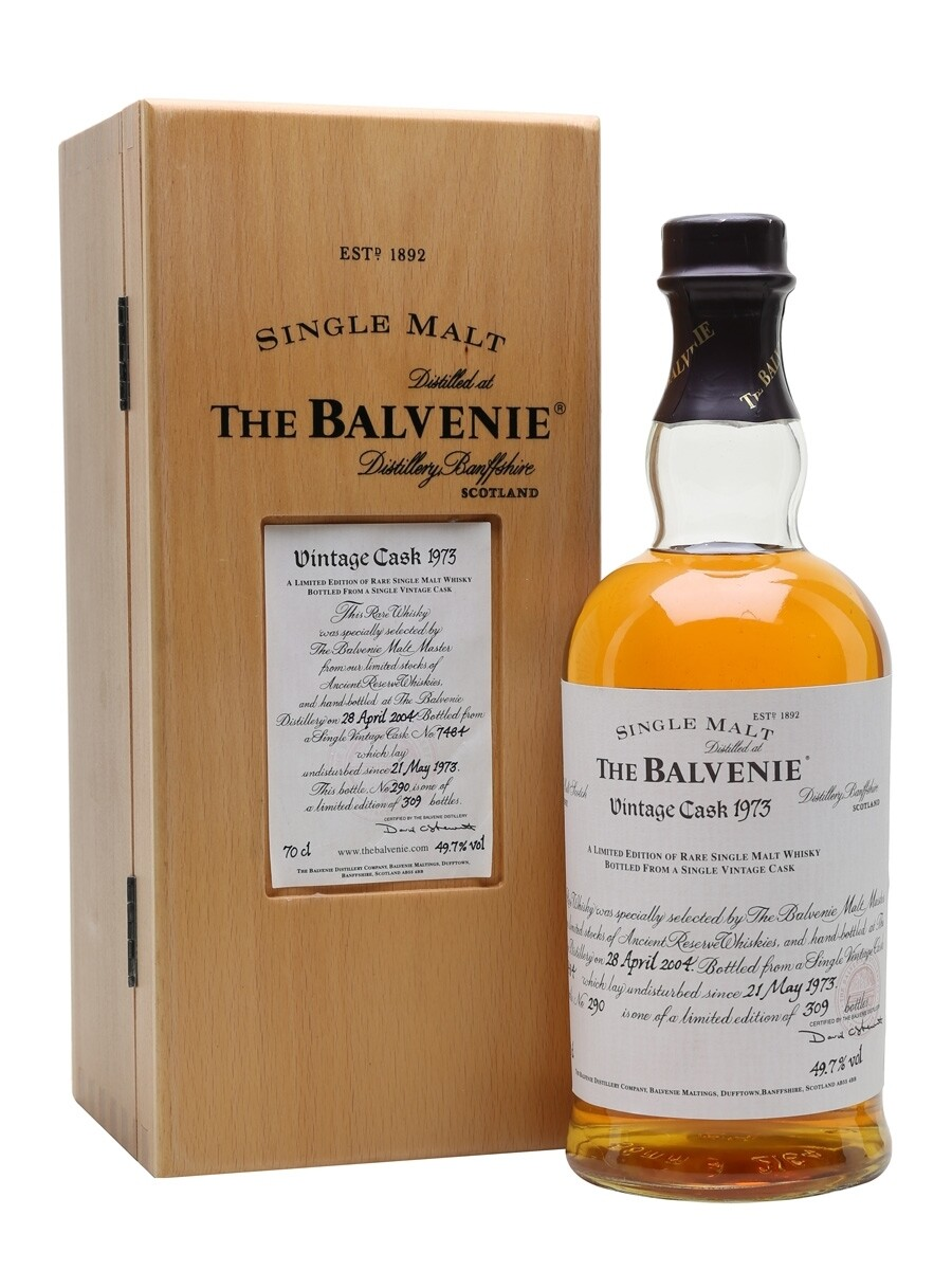 The Balvenie Vintage Cask Single Malt Scotch Whisky, Speyside 1973 (750 ml)