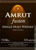 Amrut Fusion Single Malt Whisky, India (750 ml)