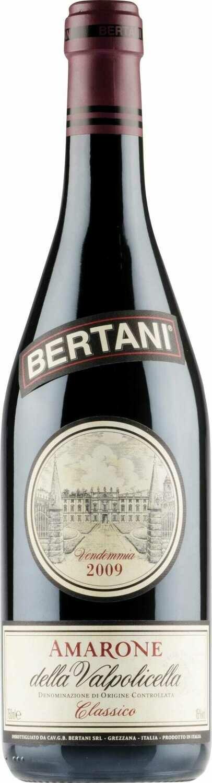 Bertani Amarone della Valpolicella Classico DOCG, Veneto 2009 (750 ml)