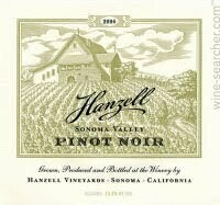 Hanzell Vineyards Sebella Pinot Noir, Sonoma Coast 2016 (750 ml)