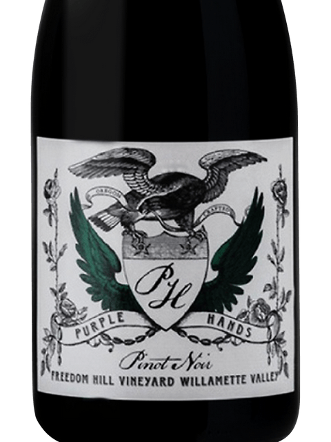 Purple Hands Freedom Hill Vineyard Pinot Noir, Willamette Valley 2018 (750 ml)