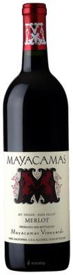 Mayacamas Merlot, Mount Veeder 2015 (750 ml)