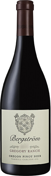 Bergström Gregory Ranch Pinot Noir 2015 (750 ml)