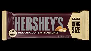 HERSHEY King Size W/ALMONDS