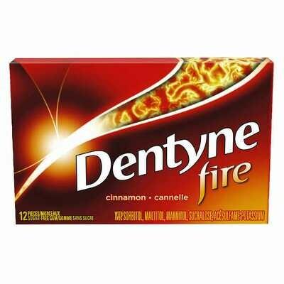 DENTYNE ICE FIRE SPICY CINNAMON