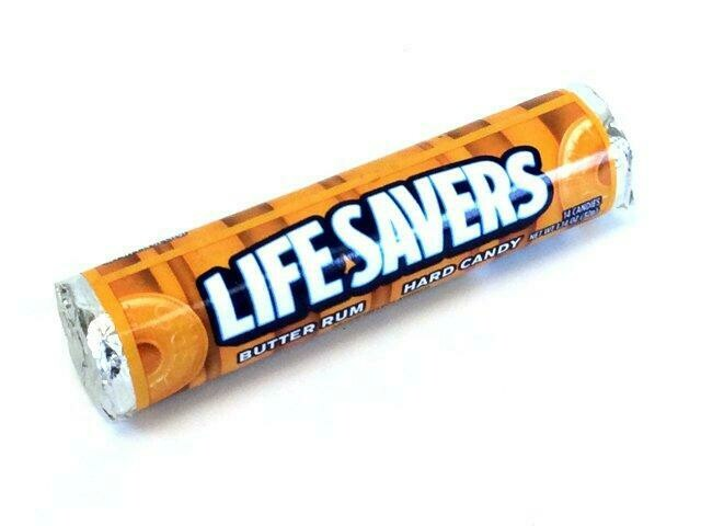 LIFE SAVERS BUTTER RUM