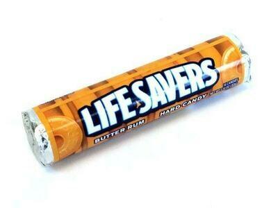 LIFE SAVERS BUTTER RUM