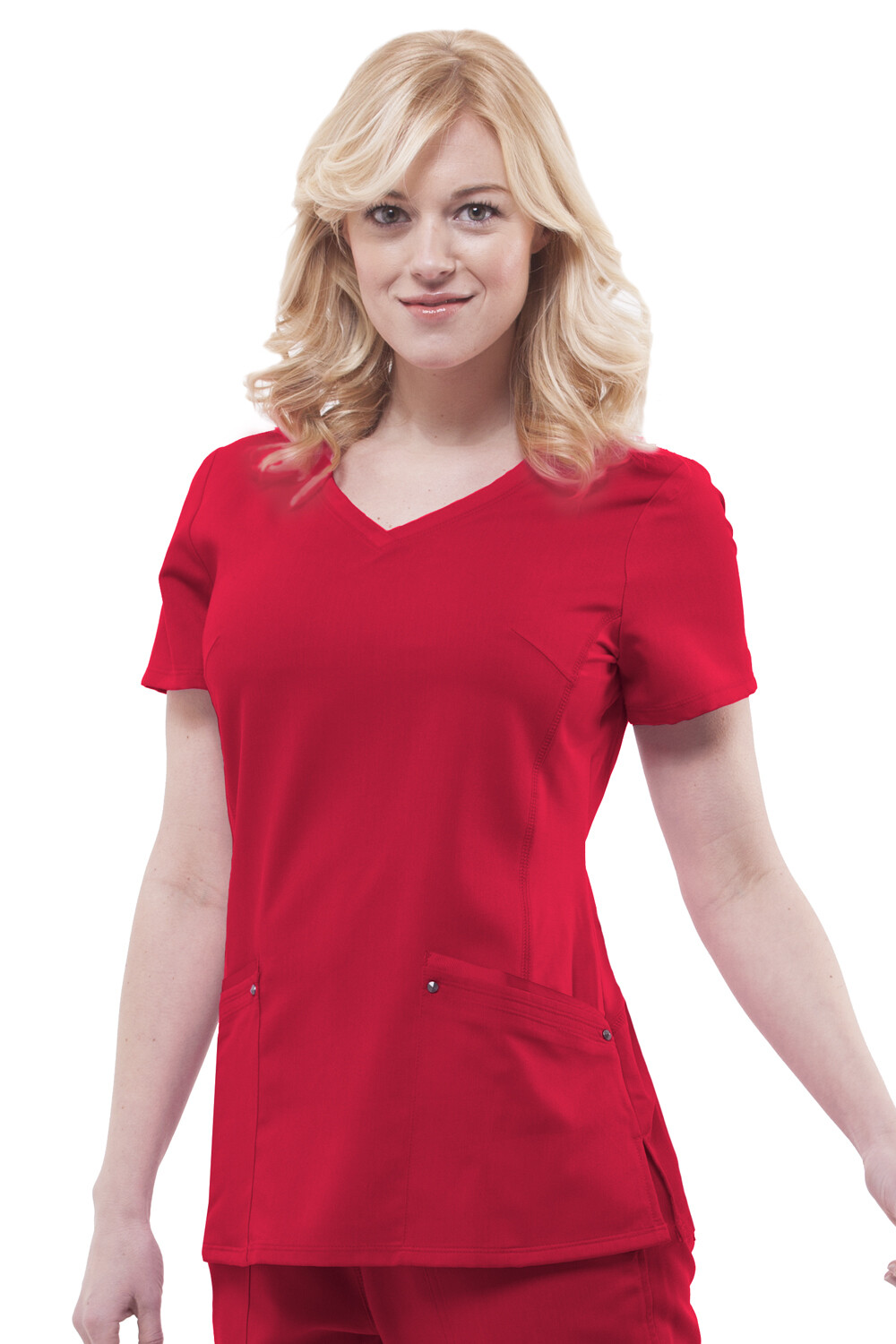 2245 JULIET TOP - RED RED S