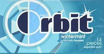 ORBIT GUM WINTERMINT