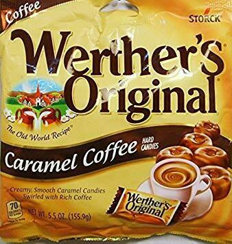 WERTHER'S ORIGINAL CARAMEL COFFEE