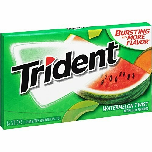 TRIDENT TRIDENT WATERMELON TWIST