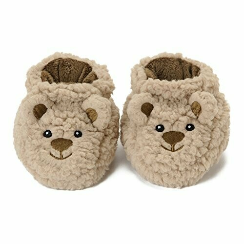 SNOOZIES INFANT 0-12 ASSORTED STYLES BEAR 3-6