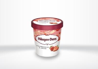Häagen Dazs - Strawberries & Cream