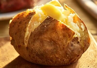 Large Jacket Potatoes