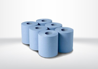 Giant Blue Centre Feed Roll