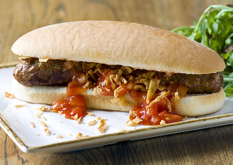 Jumbo Hot Dog Roll (Top Sliced)