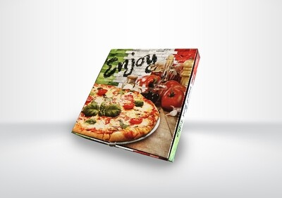 "10"" Italian Pizza Boxes"