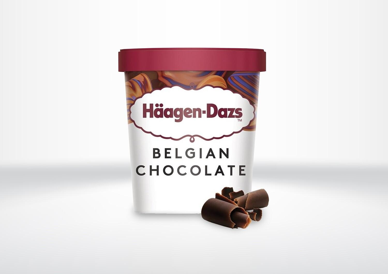 95ml Häagen Dazs - Belgian Chocolate
