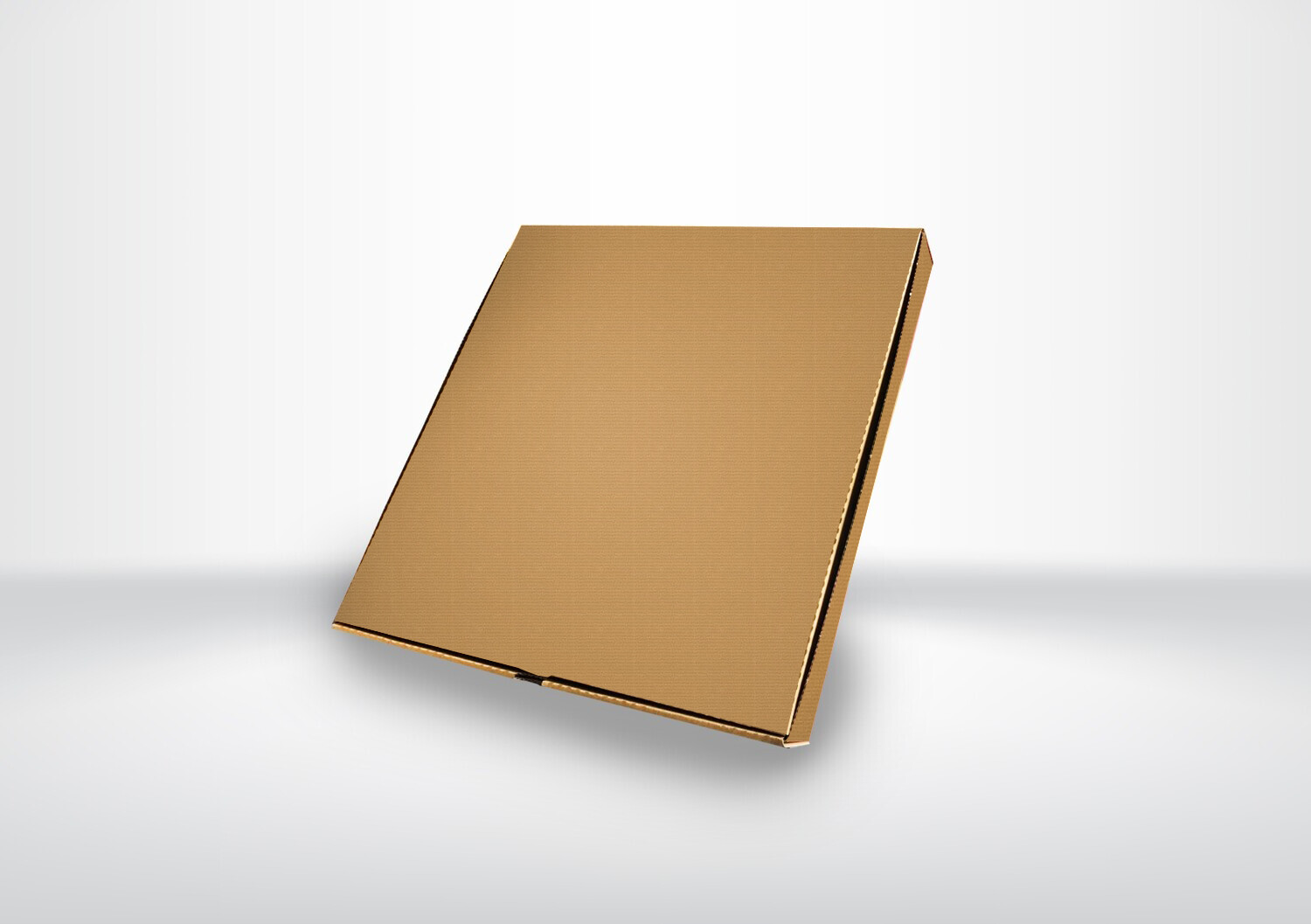 "12"" Plain Brown Pizza Boxes"