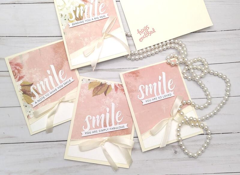 Handmade Greeting Card, Set of 6