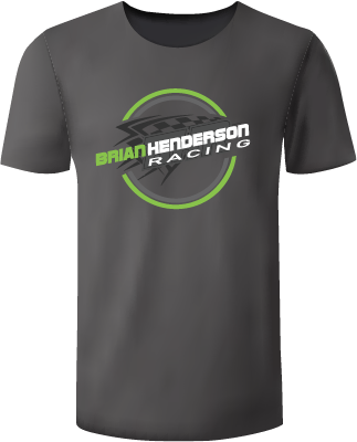 Brian Henderson Circle Logo Shirt