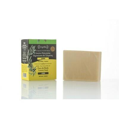 Sitruuna-oliivi saippua