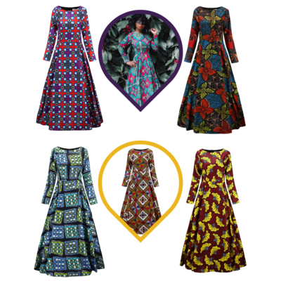 African Maxi Dresses - Maxi Dresses
