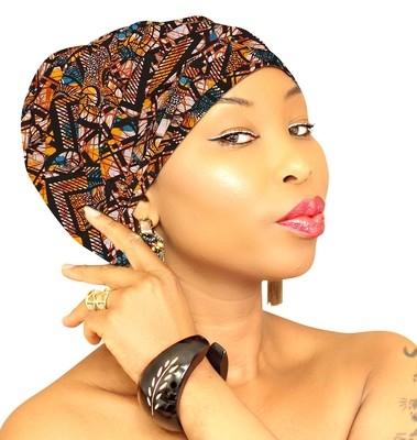 African Head Wraps - Warrior Princess