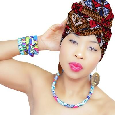 African Head Wraps - Sahara Royalty