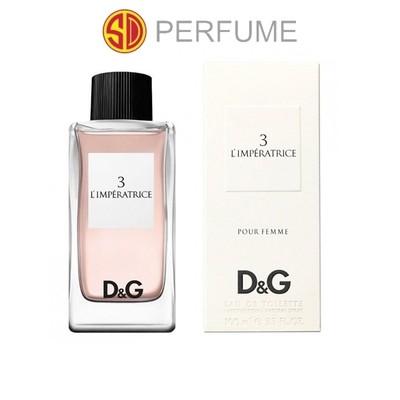 Dolce & Gabbana 3 L'imperatrice Pour Femme EDT Lady 100ml