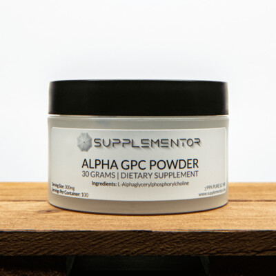 ALPHA-GPC POWDER BIOCEUTICAL DIETARY SUPPLEMENT 30 GRAMS