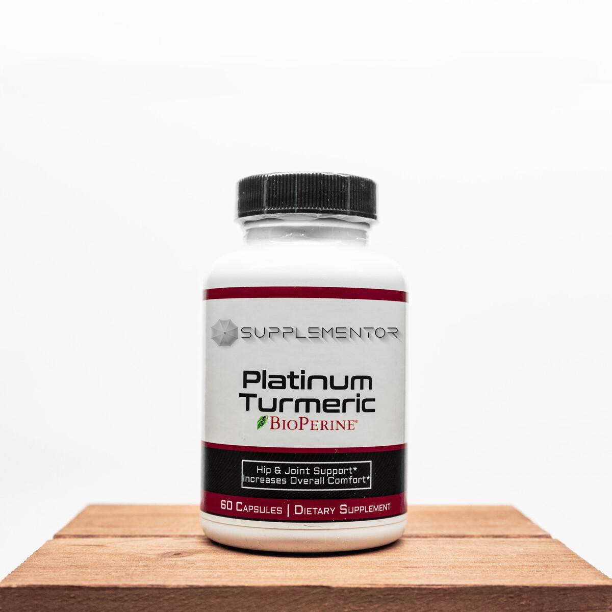 Platinum Turmeric w BioPerine Supplement