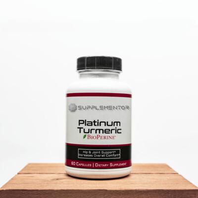 PLATINUM TURMERIC BIOCEUTICAL SUPPLEMENT
