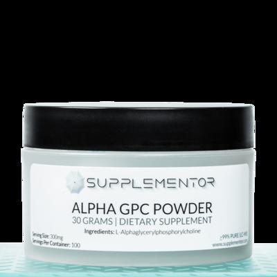 Alpha-GPC Powder Bioceutical Supplement 30 Grams