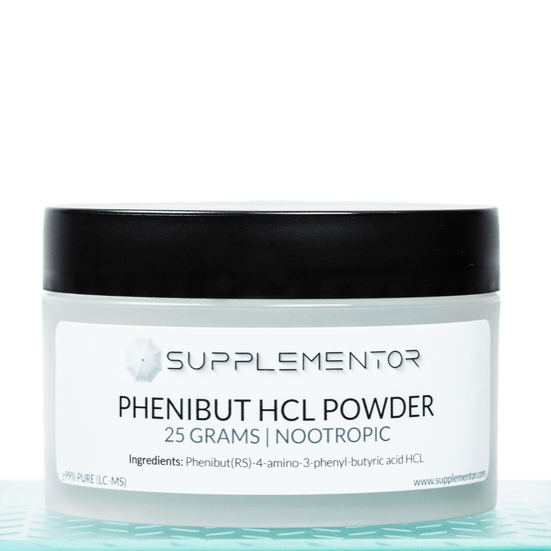 Phenibut HCl Powder Nootropic 25 Grams