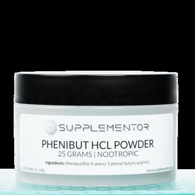 Phenibut HCl Powder Nootropic 25 Grams