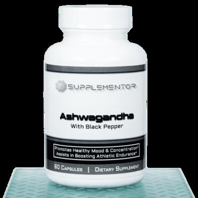 Ashwaganda 60 Count Capsules Supplement