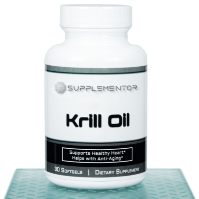 Krill Oil 30 Count Softgels Supplement