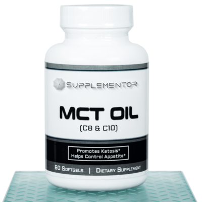 MCT Oil 60 Count Softgel Supplement