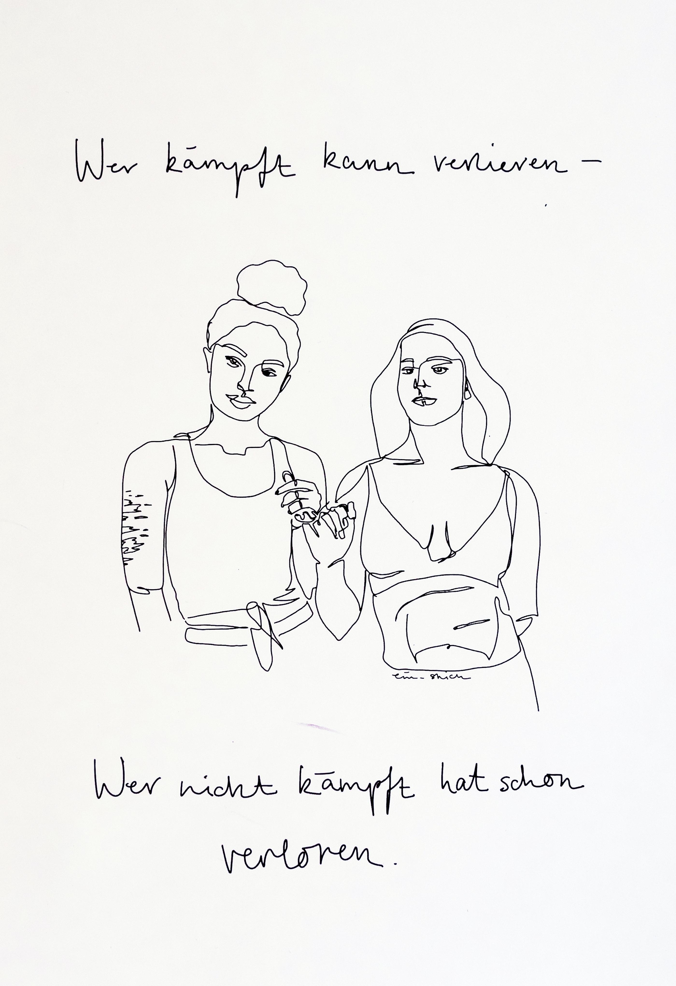 Poster A4 von ein_strich 00006